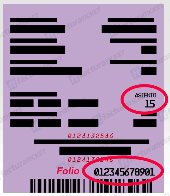 ADO Paso 1  Capture los datos del Boleto y su RFC