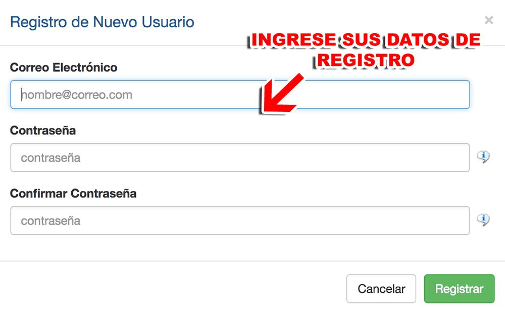 Aeromexico Cargo Paso 1  Registro en el sistema