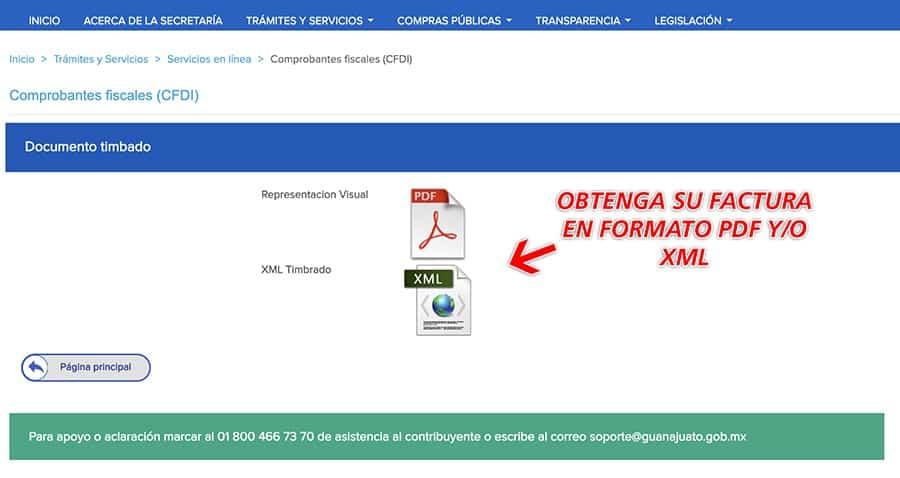 Caseta Guanajuato Silao Paso 3  Facturación Realizada