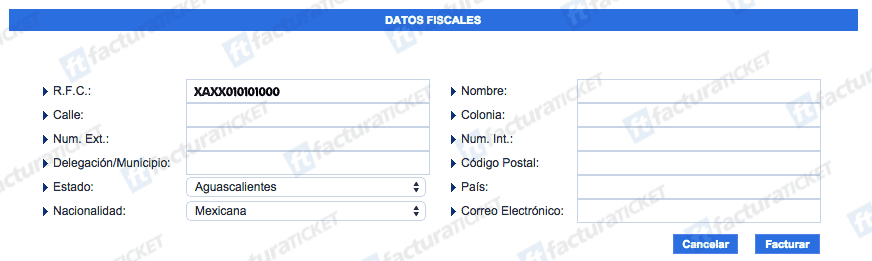 Cielito Querido Cafe Paso 2  Registro de datos