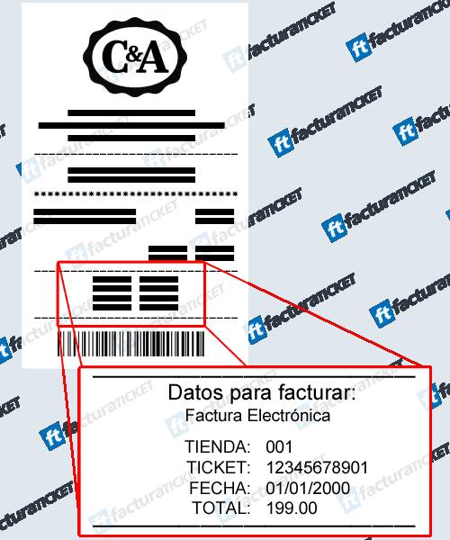 C&A Moda Paso 1  Captura de datos de compra