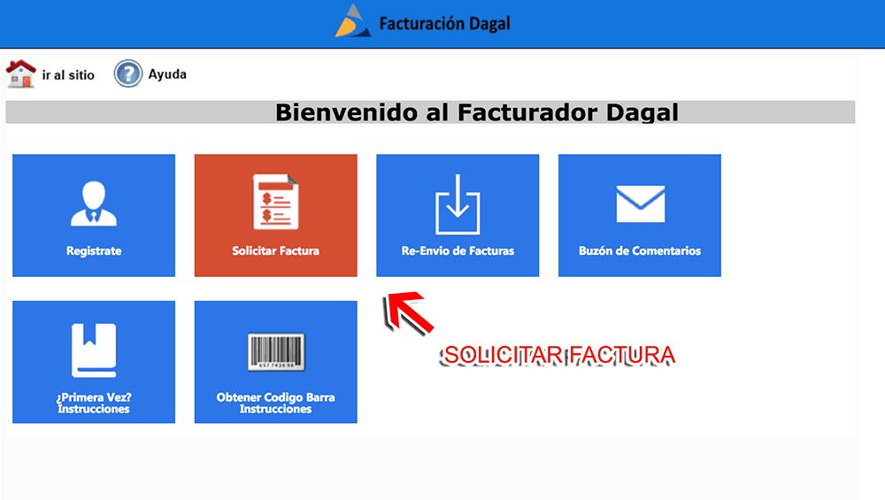 Dagal Paso 3  Captura de datos de compra