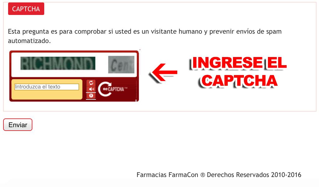 FarmaCon Paso 3  Confirmación de factura