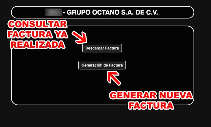 Grupo Octano Paso 1  Registro en el sistema