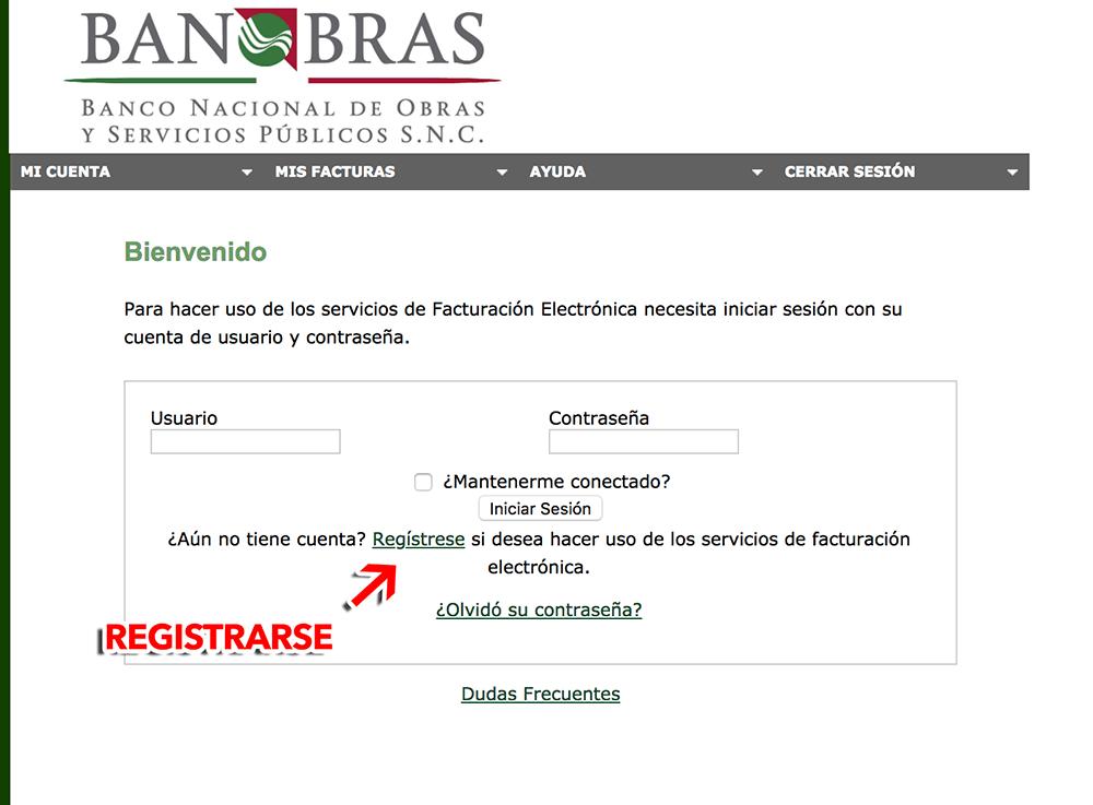 LIBRAMIENTO FELIPE CARRILLO PUERTO Paso 1  Registro en el sistema