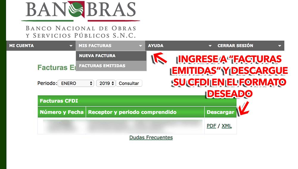 LIBRAMIENTO FELIPE CARRILLO PUERTO Paso 3  Captura de datos de factura