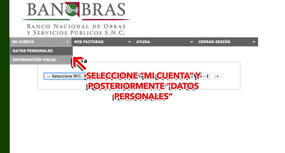LIBRAMIENTO FELIPE CARRILLO PUERTO Paso 2  Captura de datos fiscales