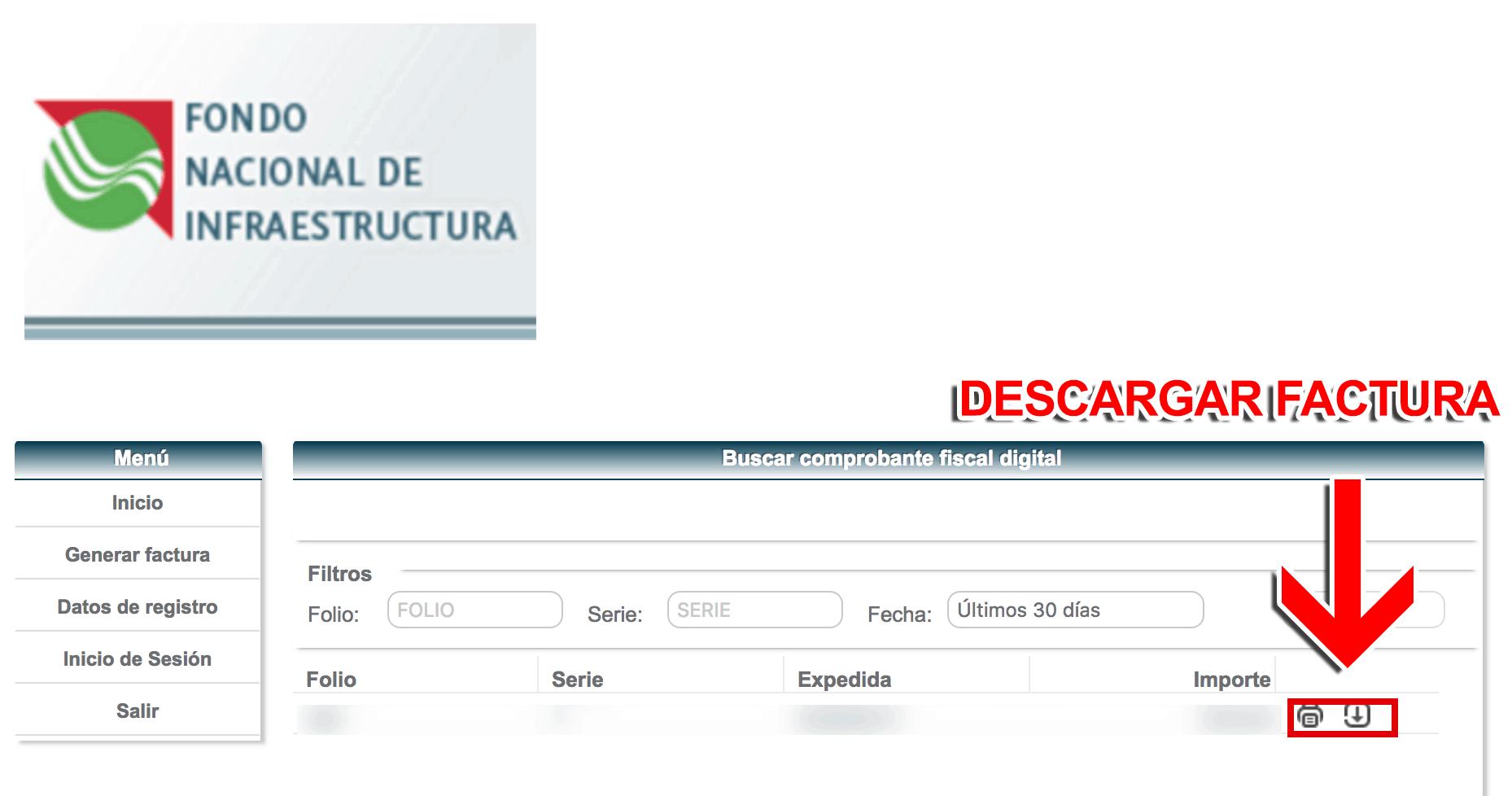 Libramiento de Villahermosa Paso 3  Confirmación desu factura.