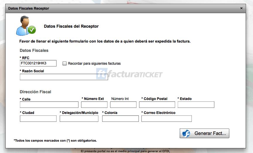 Magnicharters  Paso 2  Capture su Domicilio Fiscal y Correo Electrónico