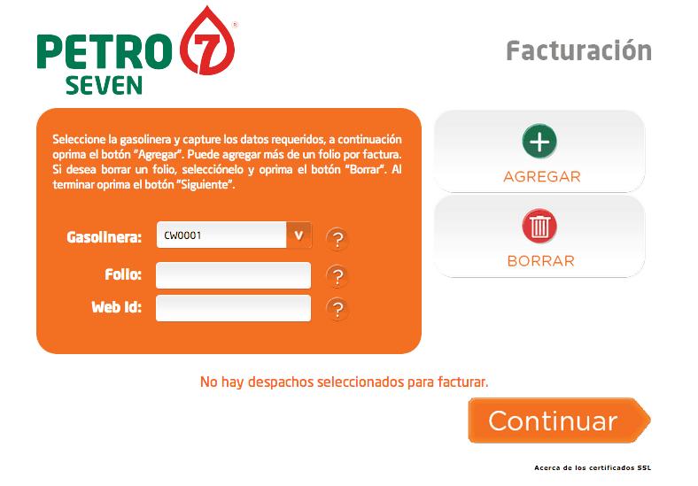 Petro 7  Paso 1  Ubique los siguientes datos en su ticket.