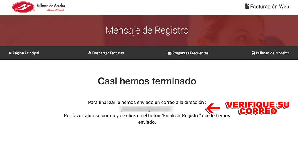 Pullman de Morelos Paso 1  Registro en el sistema
