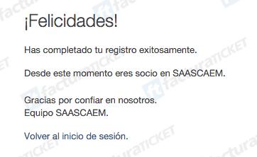 Autopista Remedios Ecatepec (Saascaem)  Paso 1 – Regístrese en el sistema e ingrese con su nuevo usuario.