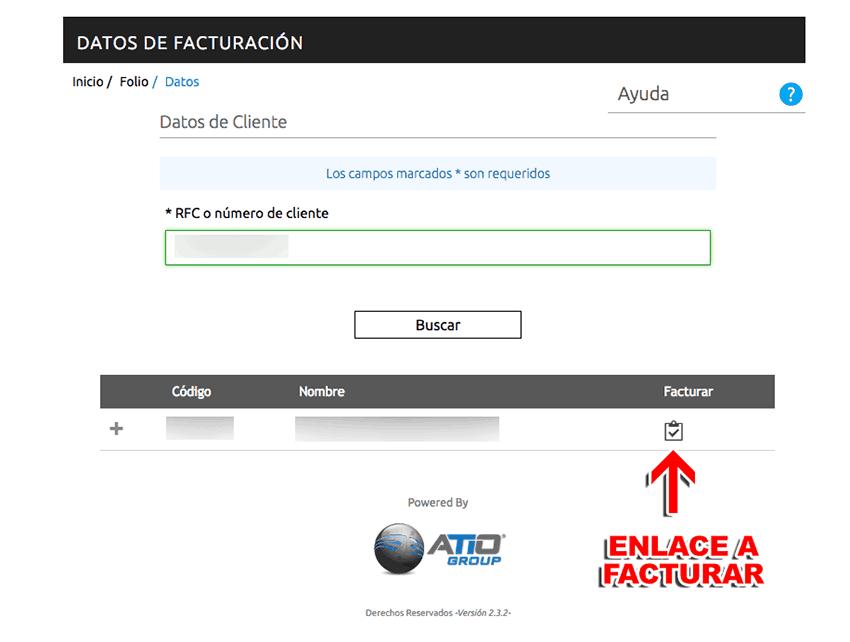 Repsol México Paso 4  Confirme sus datos y descargue su factura.