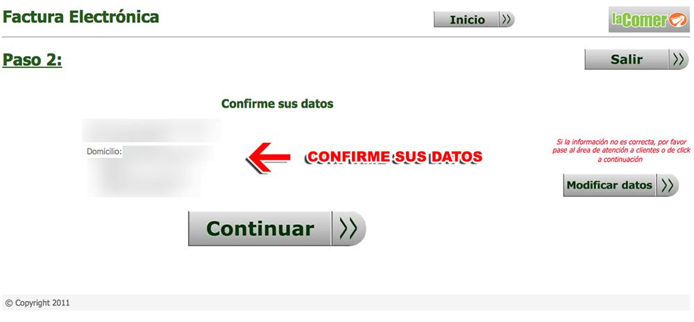 Sumesa Paso 2  Registro de datos