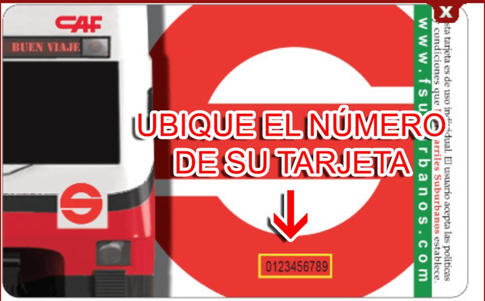 Tren Suburbano Paso 3  Facturación